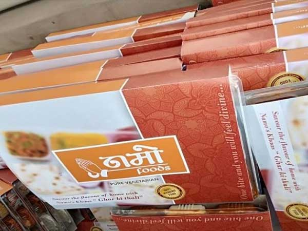 Namo food packets distributed at polling stations in Gautam Buddh Nagar