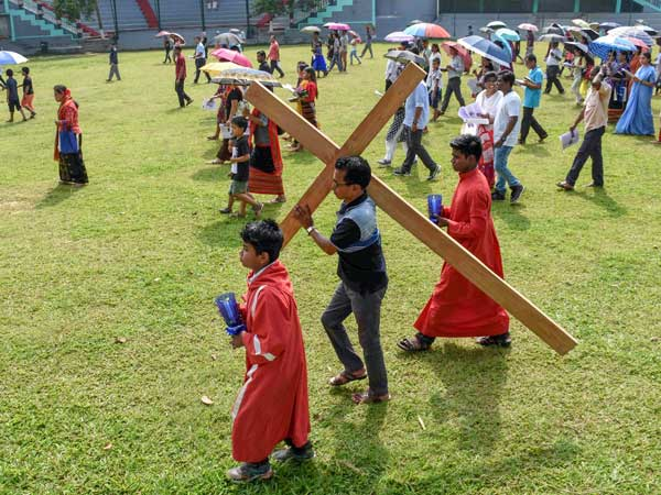Good Friday Observed By Christians All Over The Country