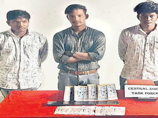 IPL tickets in block market hyderabad task force arrested three people