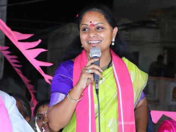 Opposition parties united together..! planning to defeat me says Kavitha.. !!