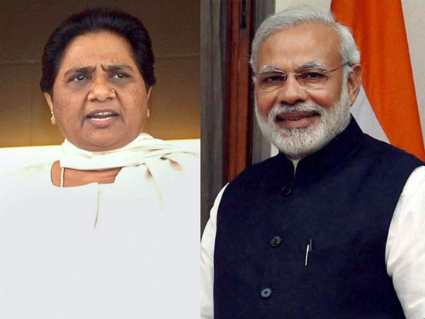 modi will be voted out by the people of UP : Mayawati