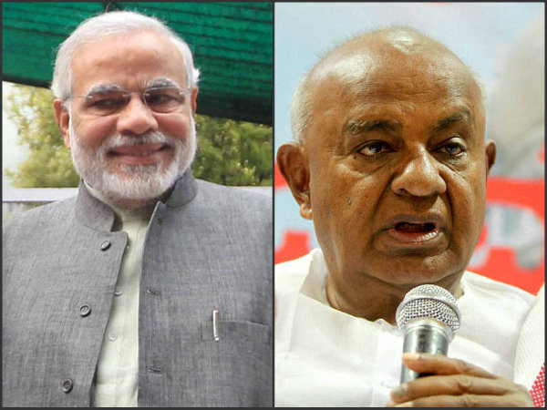 Ready to answer for Narendra Modi PM of India says former PM Deve Gowda
