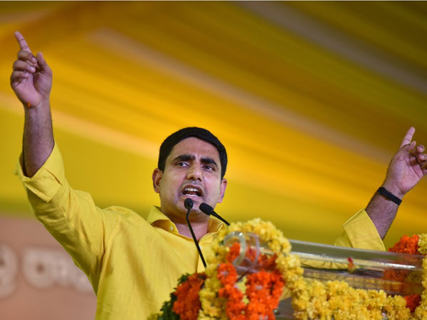 lokesh agitation against ec