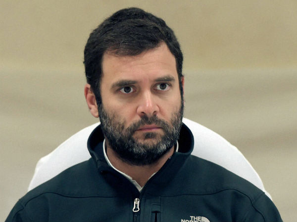 Rahul Gandhi forced to return Delhi as flight engine gives trouble