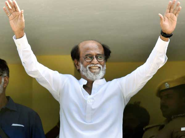 Ready to face assembly polls in Tamil Nadu: Rajinikanth