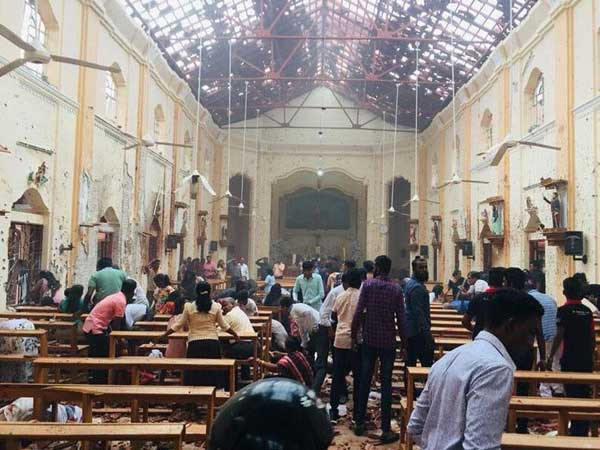 Sri Lanka detains Syrian in investigation of blasts; toll rises to 321
