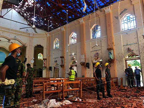 Death toll in Sri Lanka bombings revised down to 253 as declared by the Government