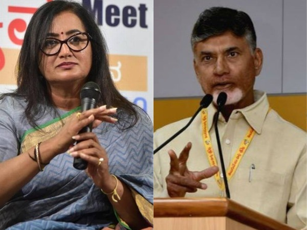 Chandra Babu campaigning againts sumalatha. Do you think Is it fair?