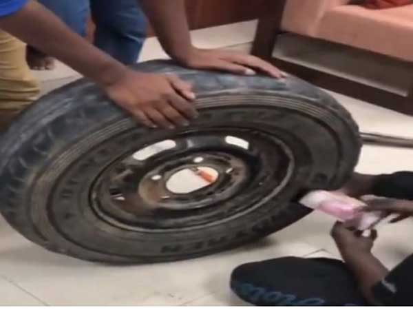 2.3 Crore Cash Seized From Cars Spare Tire In Karnataka