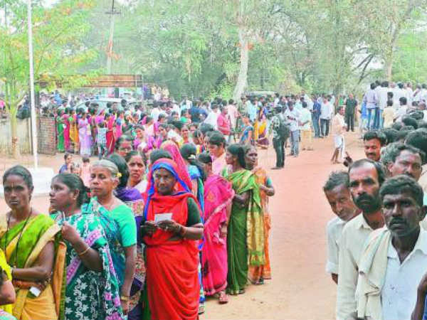 hyderabad voters no response highest medak lowest secunderabad
