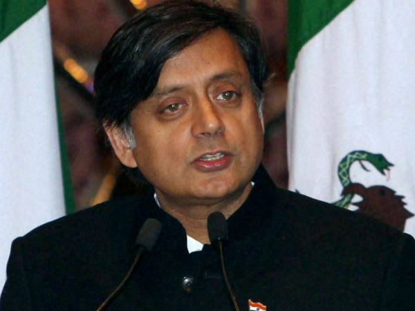 shashi tharoor hot comments on bjp and exit polls