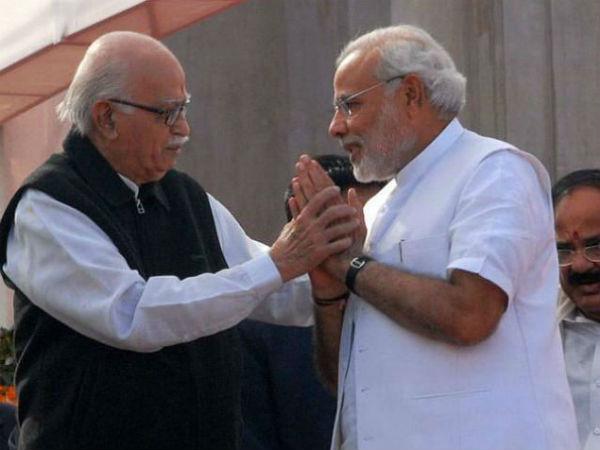 ద రియల్ లీడర్... మోడీకి హృదయపూర్వక అభినందనలు తెలిపిన ఎల్కే అద్వాని