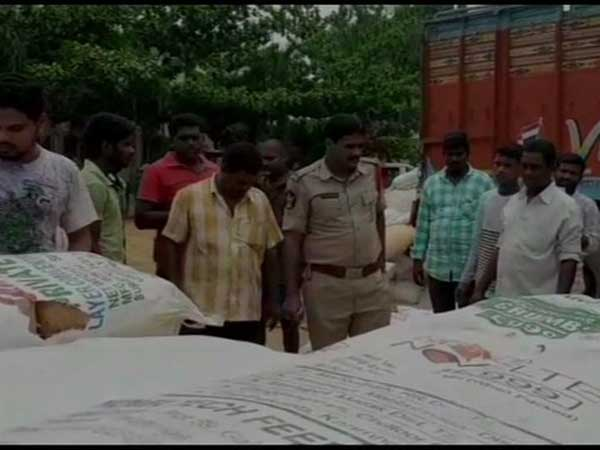 2500 kg of cannabis seized by the Police in Visakhapatnam District