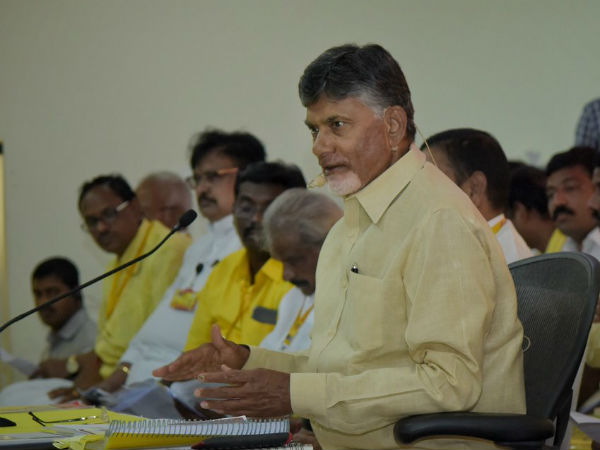 Chandra Babu confident elections results will be one side in favour of TDP..