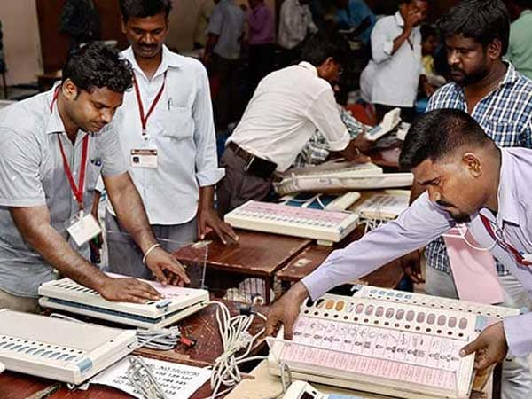 55 places in ap assembley, loaksabha counting