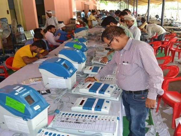 First Postal ballot..last VVpats slips counting..counting in 55 centers in AP..