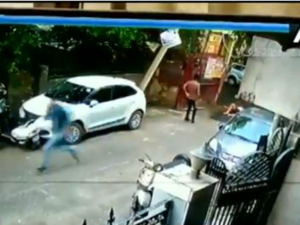 a man was chased and shot numerous times in delhi