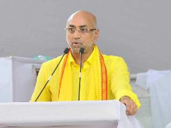 TDP Parliament Leader Galla..! Jaidev is not left out of special status..!!