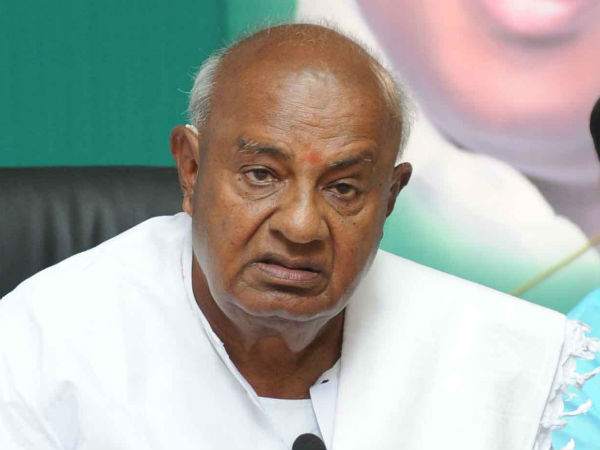 Former Prime Minister HD Deve Gowda lost to GS Basavaraj of BJP in Tumkur.