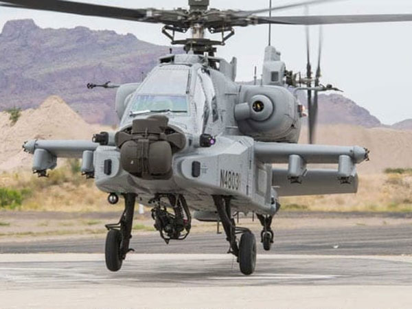 In Air Force the undisputed weapon.!Apache war helicopter arrives in India.!!