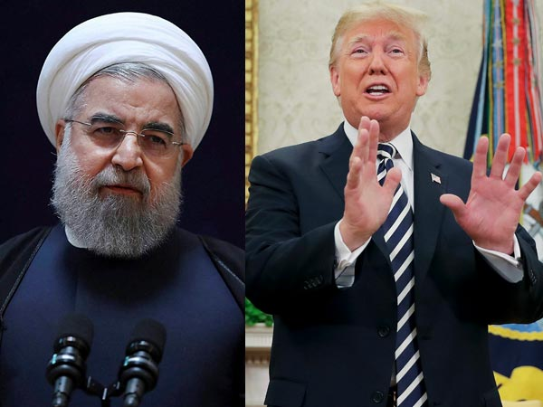 War between the US and Iran.! trump applaus N.korea..!!