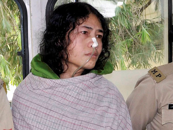 Irom Sharmila gave birth to twin girls on Mother's Day