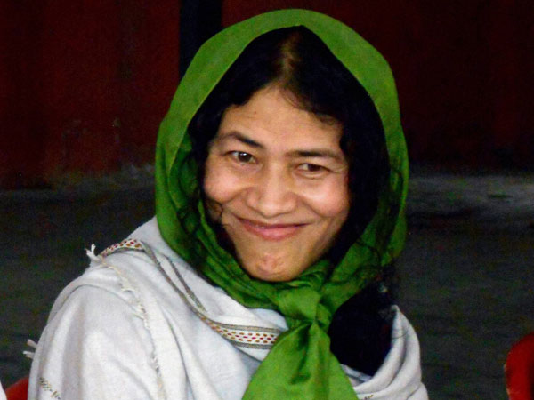 Iron lady Irome Sharmila gives birth to twins in Bengaluru hospital