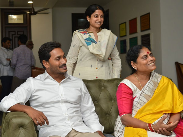 YS Jagan mother YS Vijayamma reacts about his sons landslide victory in Andhra Pradesh