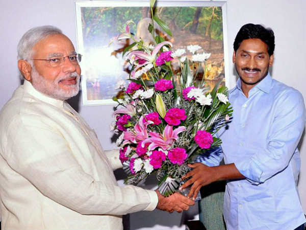 Prime Minister Modi greeted AP new CM Jagan on his swearing ceremony and assured central govt assistance