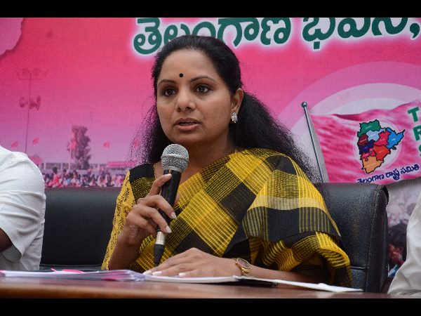 winning or losing her life is dedicated to the public service .. KCR daughter Kavitha said