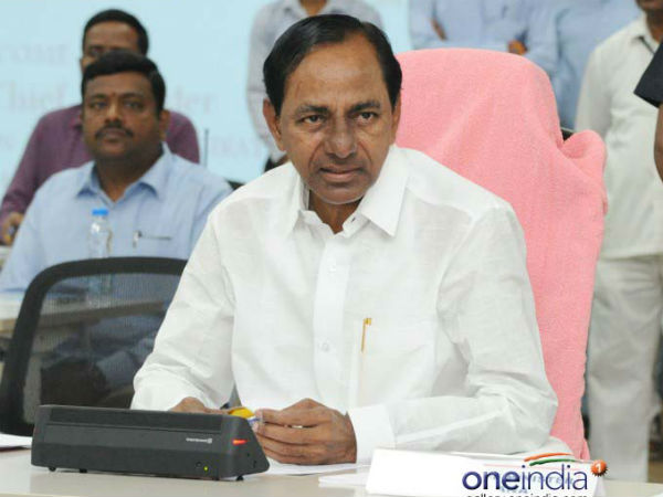 A government school principal has been suspended for criticising CM KCR