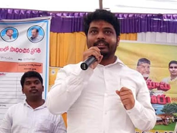 AP minister Kidari Sravan resigned for his ministry : Lokesh assured for his political future
