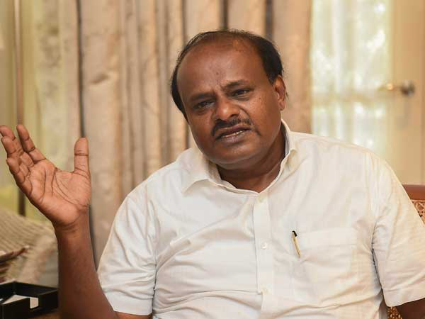 Karnataka Chief Minister HD Kumaraswamy has cancelled his Delhi visit.