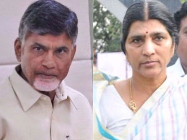 In Chandrababus time no drinking water .. bringing liquor to the level of door delivery ... Lakshmi parvathi