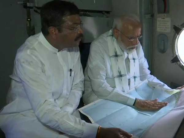modi to take aerial survey in cyclone hit odisha