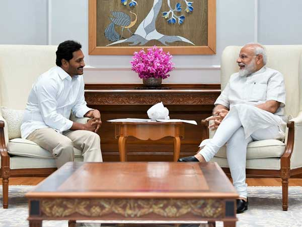 Had an excellent meeting with Andhra Pradesh's CM designate, says Modi