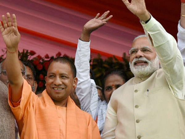 Standing in the Congress election to break rival votes! Modi is krishnavatar says Yogi.!
