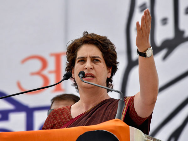 Priyanka Gandhi on the Exit Polls results.. your hard work will bear fruit