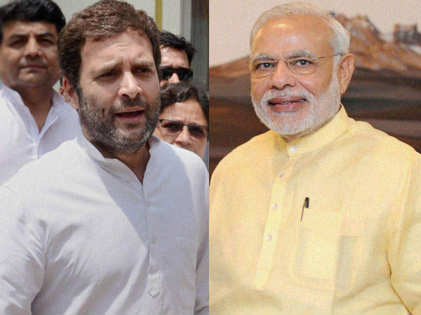 Modi is coward! Rahul says modi has to come farward to open debate..!!