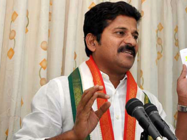 revanth reddy hot comments on ktr and trs