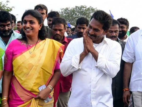 Roja confident on her victory in Nagari ..She says Jagan surely became CM..