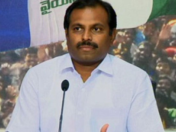 Srikanth reddy serious comments against Chandra Babu : CM have no confidence on law