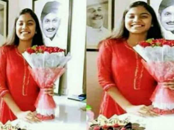 YS Jagan daughter Varsha Reddy arrived from London for witness the Fathers oath taking as CM of AP