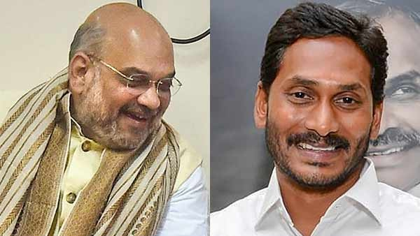 Chief Minister YS Jagan Mohan Reddy met with BJP President Amit Shah