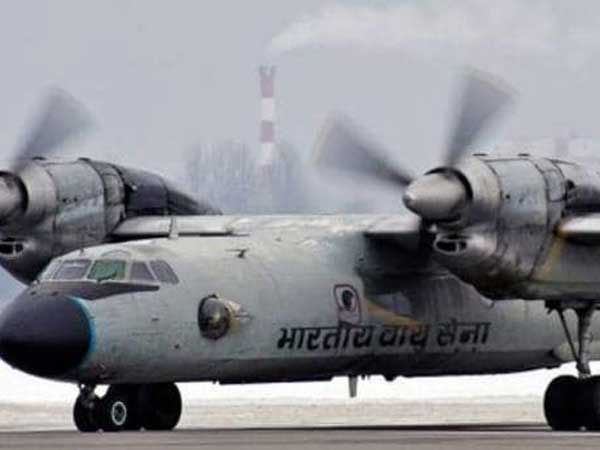 for missing Air Force An-32 transport plane search ops to continue overnight