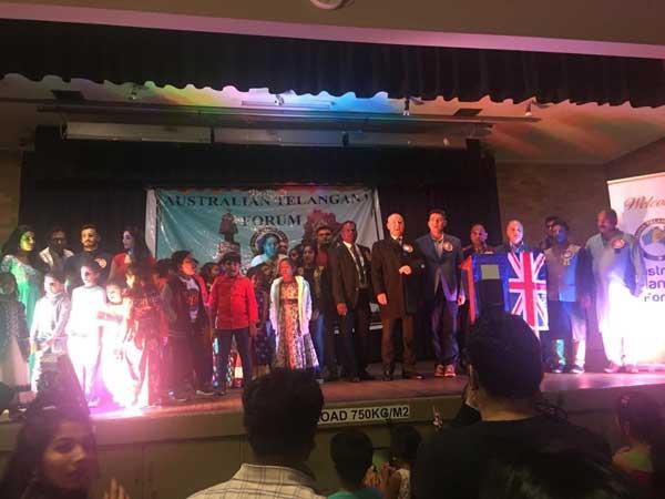 Australian Telangana Forum Celebrates Telangana Formation Day