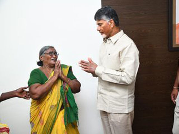 several TDP workers, supporters met former CM Chandrababu