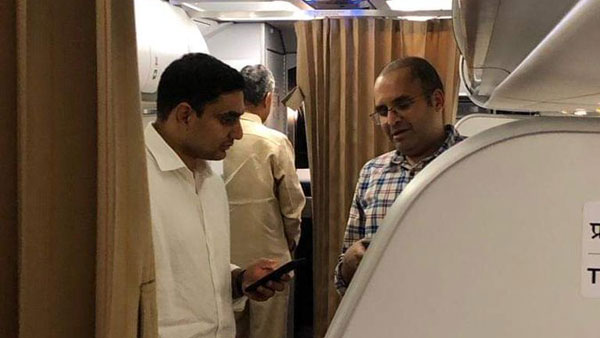 Air India flight carried 130 including Chandrababu and his son Lokesh was diverted