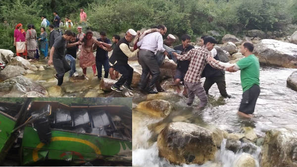 25 Dead, As Bus Falls In Gorge In Himachal Pradesh