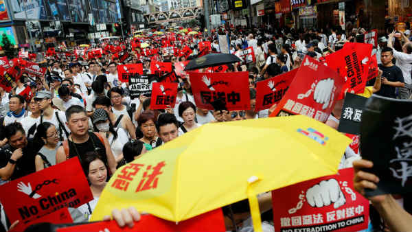 Situation Turns Worse In Hongkong As Protestors Demand For Extradition Bill